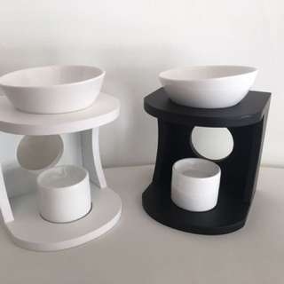 MDF/WOOD CERAMIC OIL BURNER