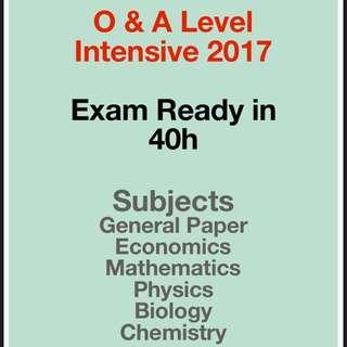 O Level Intensive