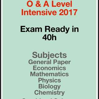 A Level Intensive