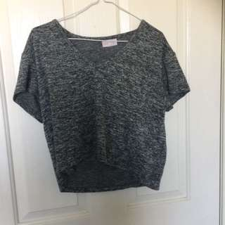 Silent theory top - size 10