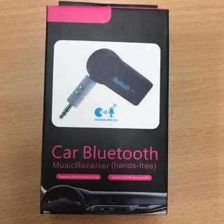 Car bluetooth music receiver (hands free)