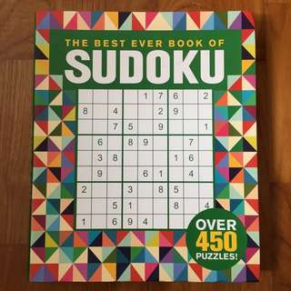 BN The best ever book of Sudoku
