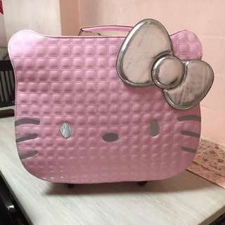 Hello Kitty Pink Luggage