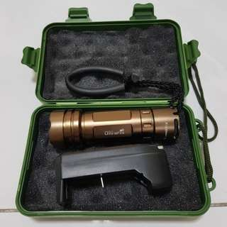 Rechargeable Zoomable Torchlight Set