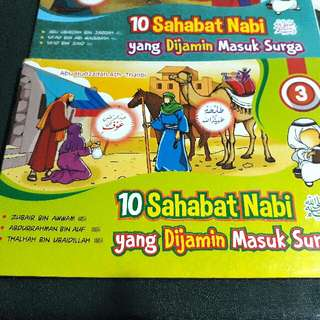 10 Sahabat Nabi Sallallahu 'Alaihi wa Sallam yang Dijamin Masuk Surga. Bk 3