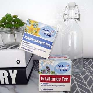【德國購買】德國DAS gesunde PLUS 感冒茶(1盒12包)/安神助眠茶(1盒12包)