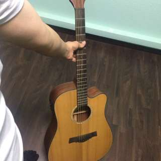Solid top acoustic with Fishman301 pick up