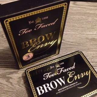 Too Faced:BrowEnvy Shaping & Defining Kit