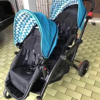 Twin Stroller (Contours Elite Option)
