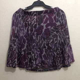 Daisy Fuentes Violet Skirt