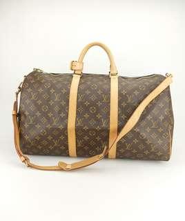 Louis Vuitton Monogram Keepall Bandouliere