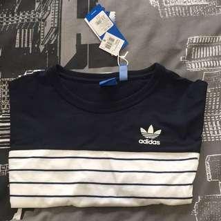 Adidas Stripe Block Tee - Size Small (Culture Kings)