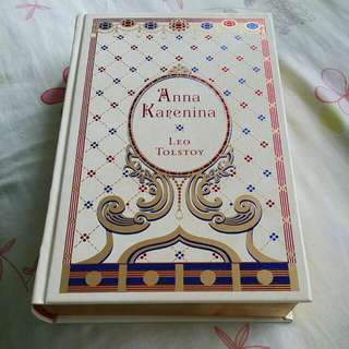Anna Karenina by Leo Tolstoy (out of print)