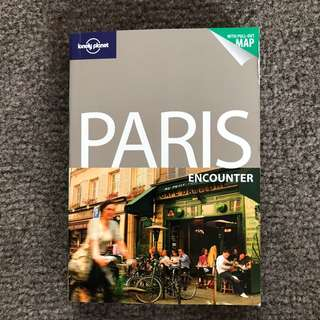 Lonely Planet Paris travel guide