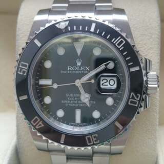 (Sold) Rolex Submariner Date (116610LN) - Very New