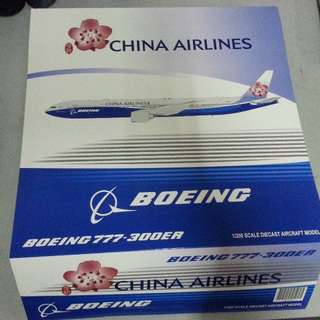"1/200 JC Wings China Airlines B777-300ER ""Dreamliner"" B-18007"