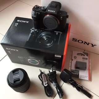 Sony a7ii Mirrorless Camera with FE 28-70mm f/3.5-5.6 OSS Lens