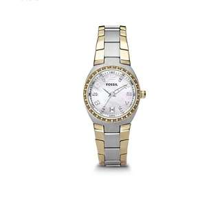 Fossil Watch for Women two toned