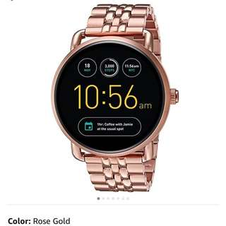Authentic Fossil Smartwatch