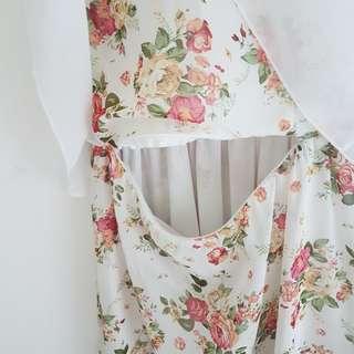 Flower Nursing dress