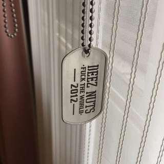 Deez Nuts Necklace / Dog Chain