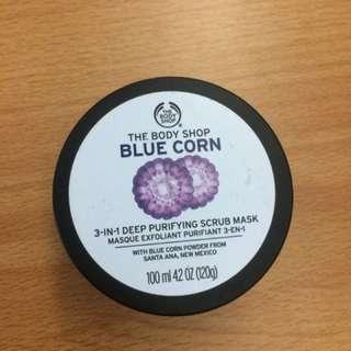 The Body Shop Blue Corn Purifying Scrub Musk