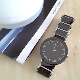 Bering Black Ceramic Watch