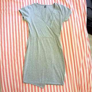 Grey Jersey Dress