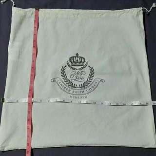 Dust Bag Large- Authentic Ralph Lauren