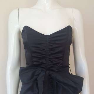 Review strapless top