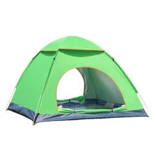 2 Secs Rapid Open 3-4 People Camping and Outdoor Tent