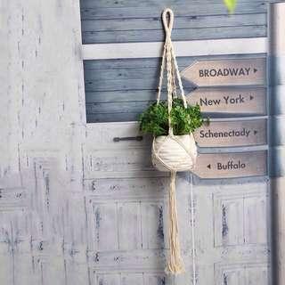 Plant Hanger Macrame Jute Rope Vintage Plant Hanging Pot