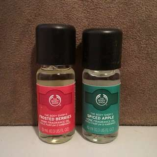 Body shop perfume oil