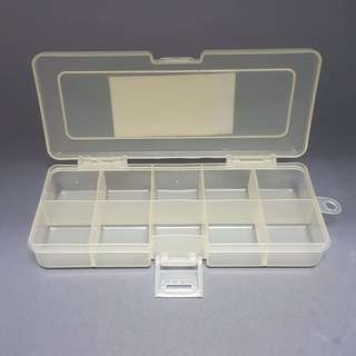 10 COMPARTMENT STORAGE BOX  [540