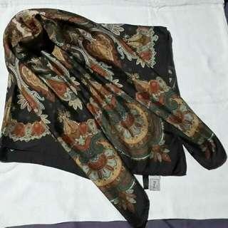 Preloved Paul Stuart Paisley Silk Men's scarf