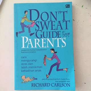 Dont sweat guide for parents