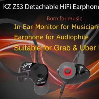 (Knowledge Zenith) KZ ZS3 Earphone With Microphone