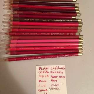 Bulk Lip Pencils
