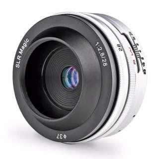SLR Magic 28mm f2.8
