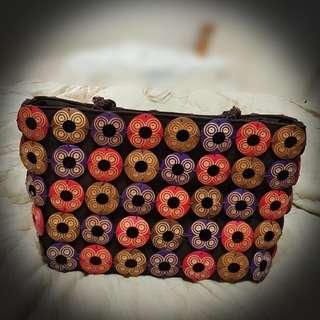 🚚 峇里島手工製椰子殼手提肩背包 大型 可換物