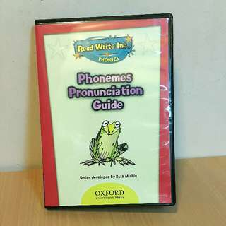 Read Write Inc. 牛津RWI 英語學習 DVD (美國原廠)