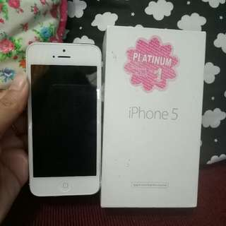 Iphone5 32GB White