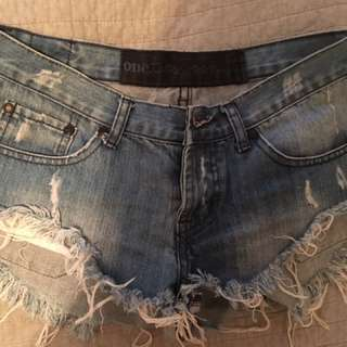 One Teaspoon Shorts Size:8