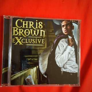 Chris Brown CD Exclusive