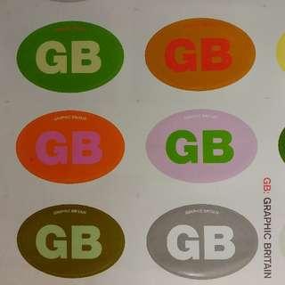 GB Great Britain graphic design book