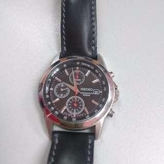 100% Real Seiko 7T92-0LH0 Chronograph 100M