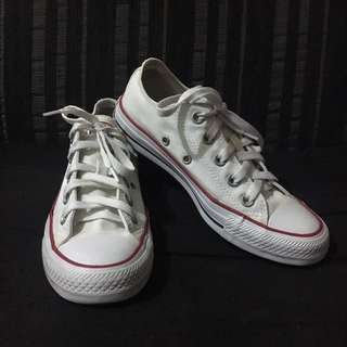 Converse Classic Chucks White (Low Cut)
