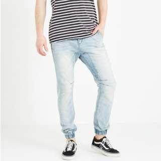 COTTON ON : Slim Denim Jogger Size 30
