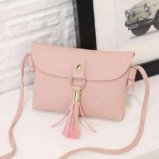 Small Tassel Bag Pink