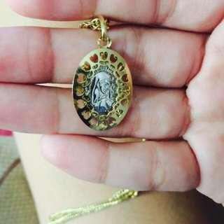 gold pendant 2.6g 18k pawnable